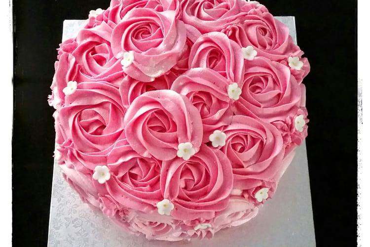 Rose Cake moelleux