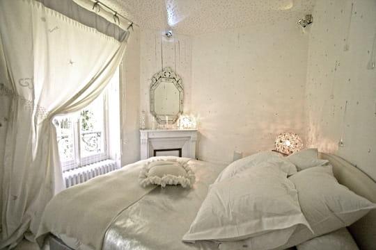 La chambre Reine des neiges