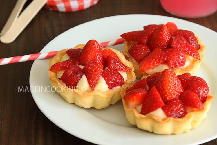 Tartelettes aux fraises ultra-simples