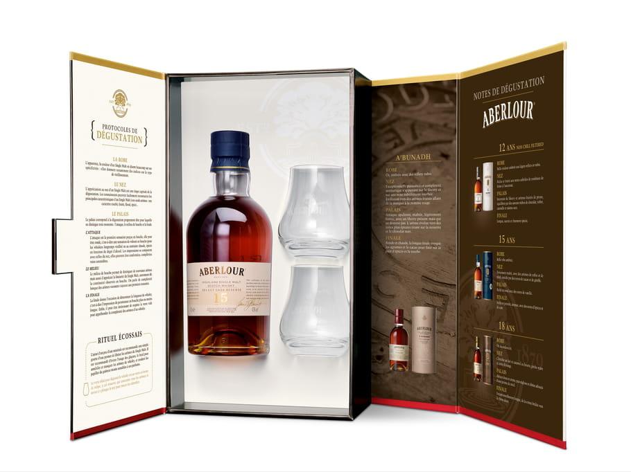 Coffret de Whisky Aberlour