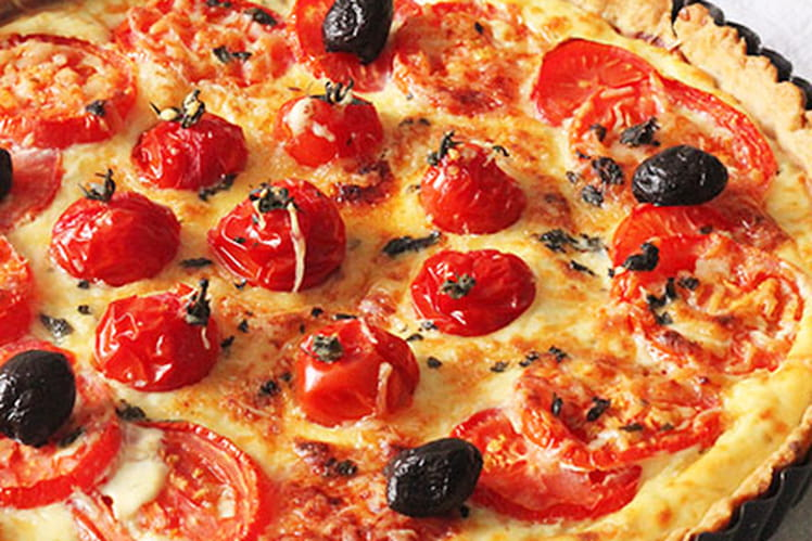 Tarte à la tomate et ricotta 100% maison