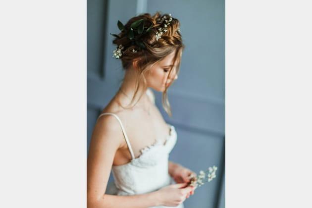 Une coiffure de mariée pour le grand jour