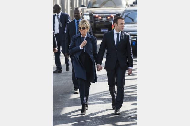 Brigitte Macron le 3février 2018