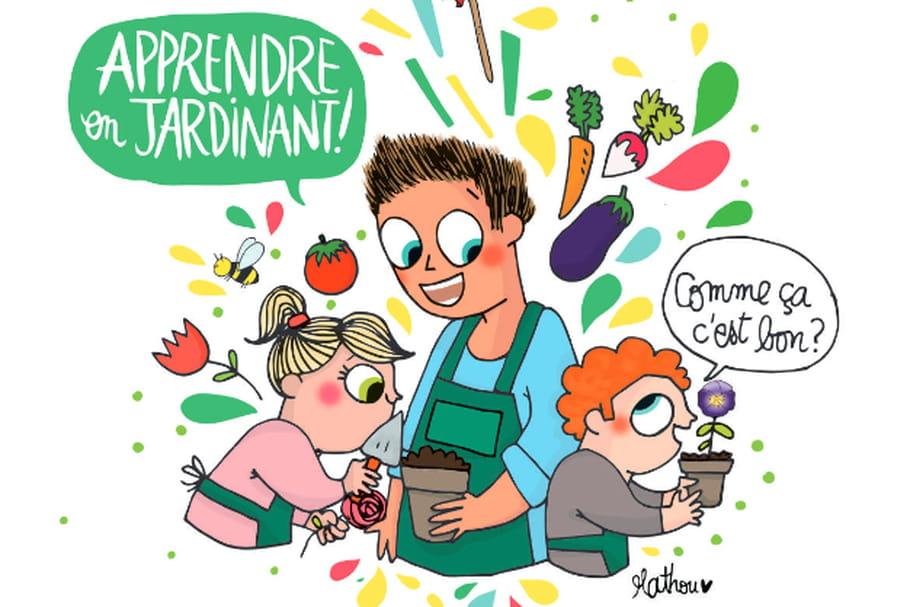 C'est la semaine du jardinage pour les écoles!