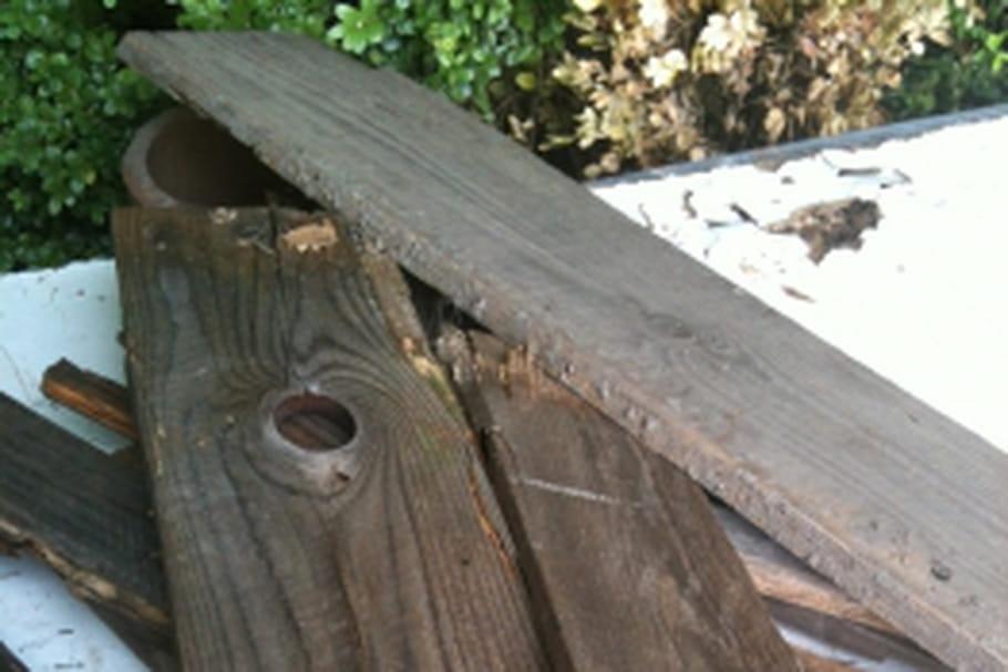 Fabriquer une table de jardin en totale r cup 39 - Fabriquer table de jardin ...