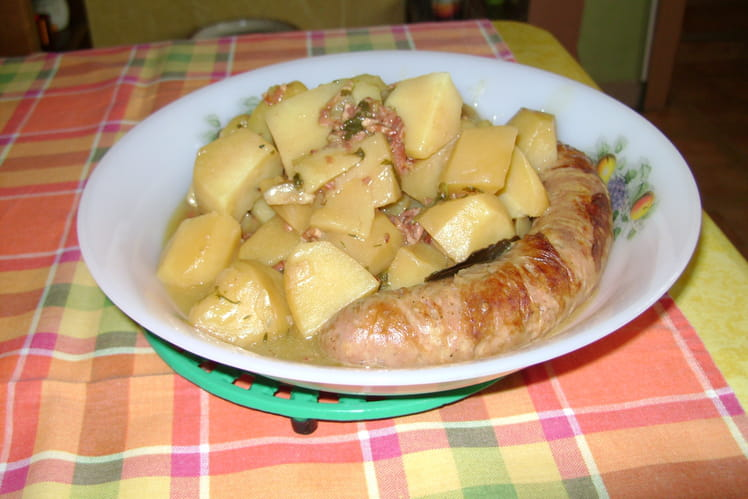 Ragoût de pommes de terre