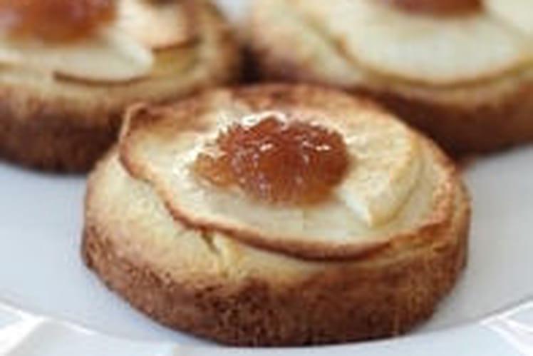Tartelettes aux pommes façon palet breton