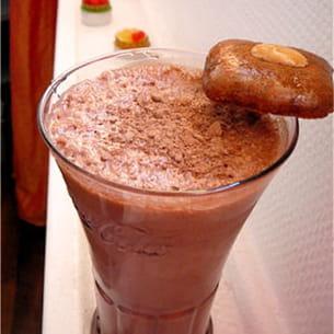 milk shake au nutella