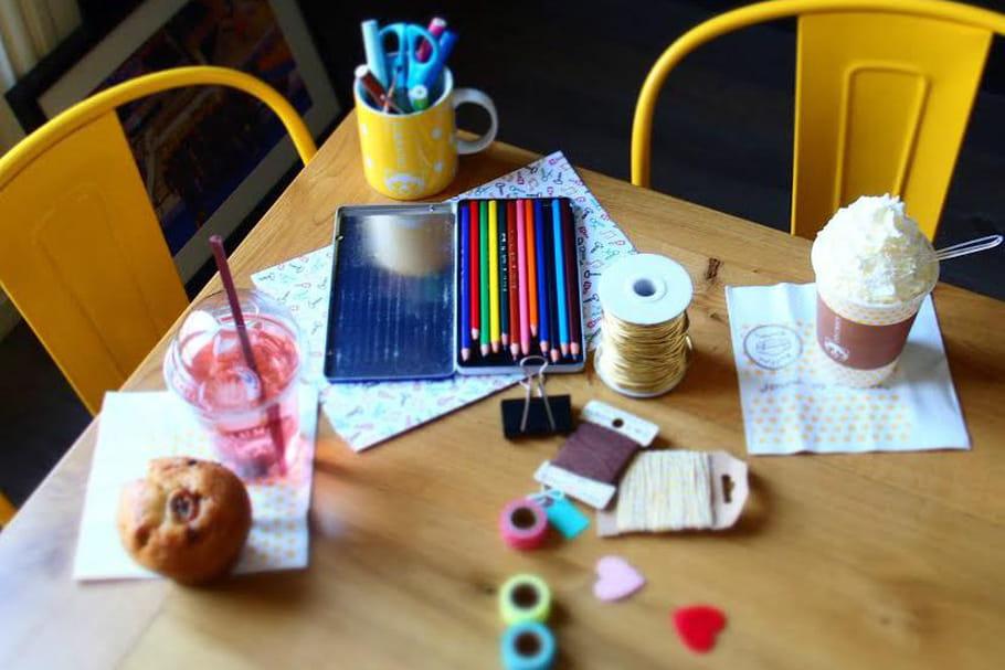 Devenez une artiste grâce à Columbus Café