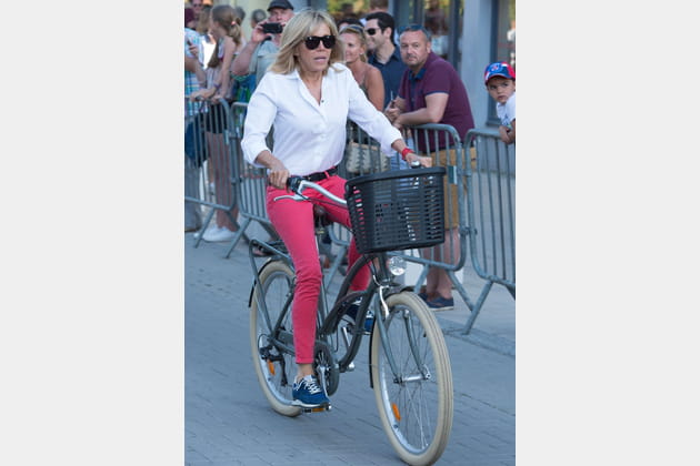 Brigitte Macron le 17juin 2017