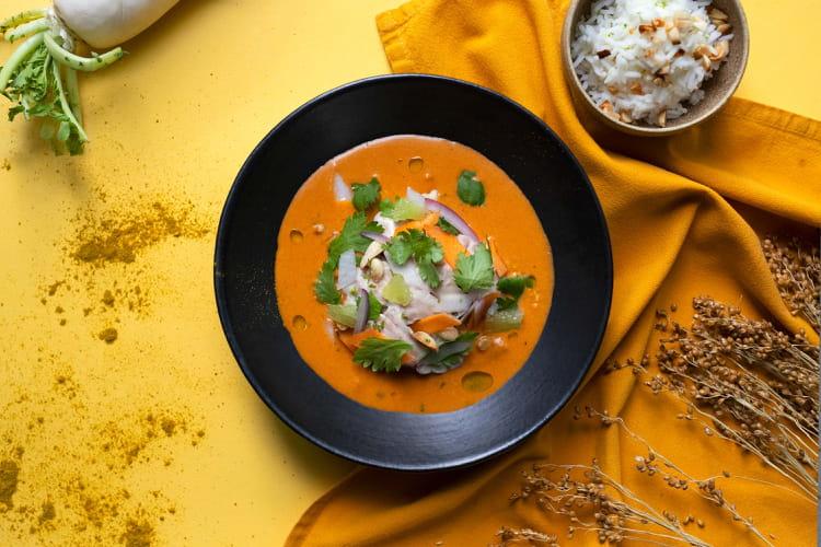Curry de cervelle d'Adrien Cachot
