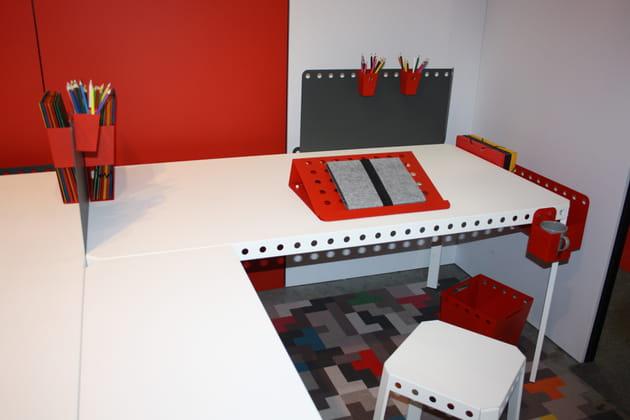 Le bureau évolutif Meccano Home