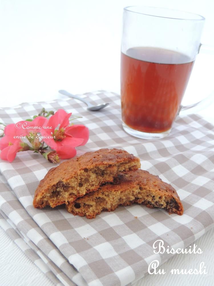 Recette de biscuits au muesli - Recette petit dejeuner sain ...