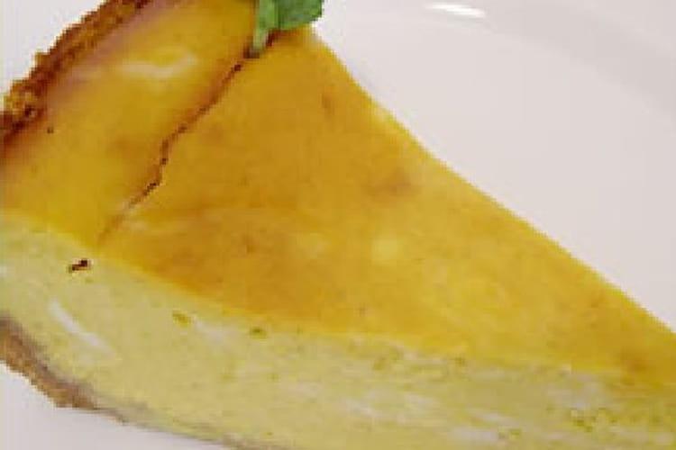 Tarte de potiron au fromage