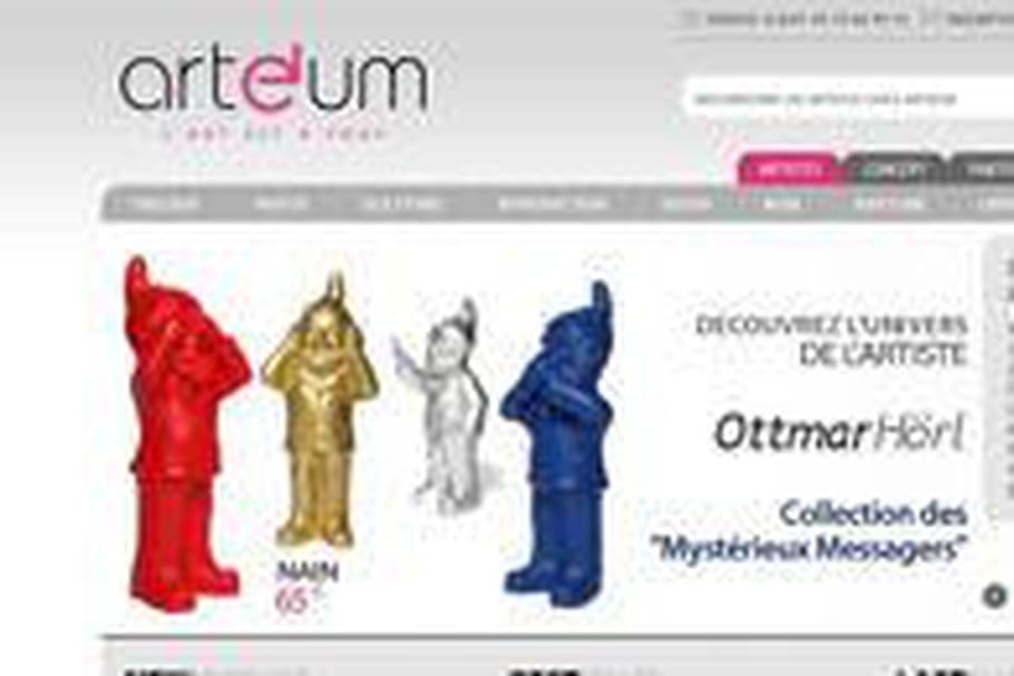 Arteum lance sa boutique en ligne