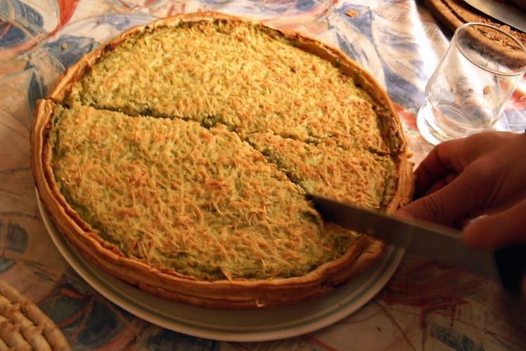 Tarte au thon et brocolis