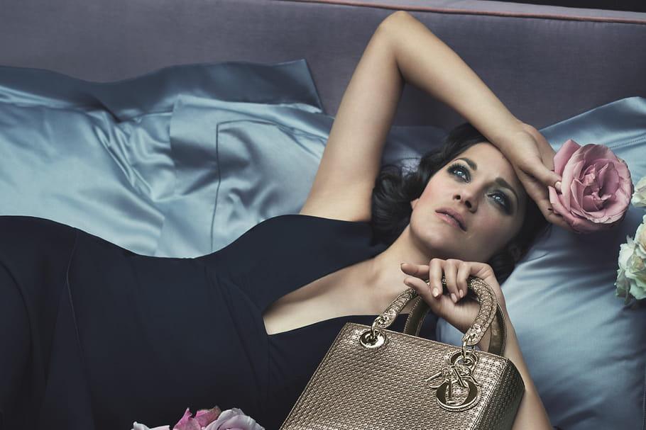 Marion Cotillard captivante pour la dernière campagne Lady Dior