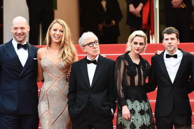 Woody Allen, bien entouré