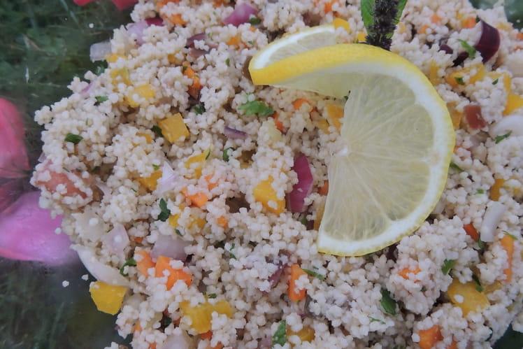 Taboulé aux légumes