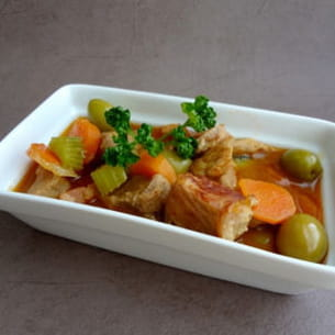 veau aux olives