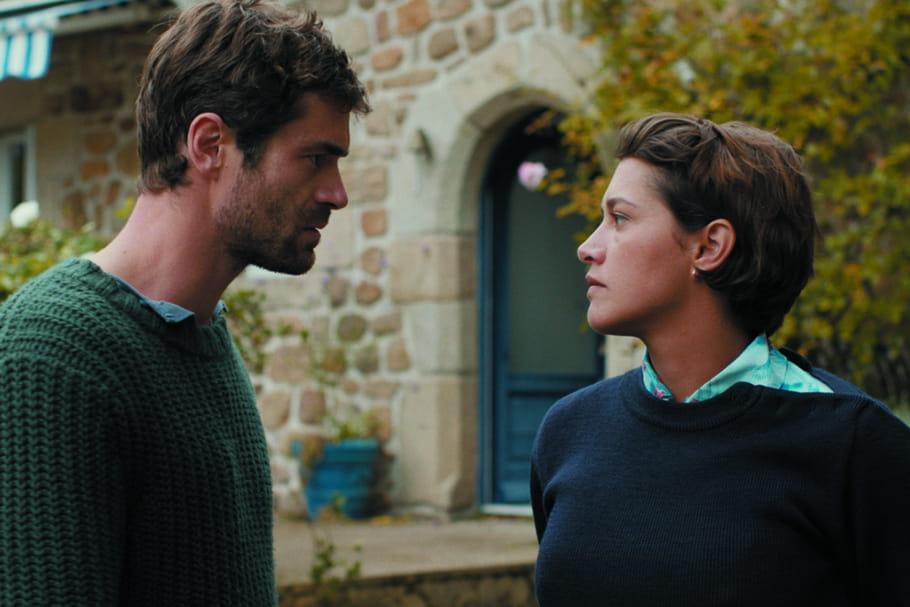 Yannick Renier et Emma de Caunes, roi et reine des Châteaux de Sable