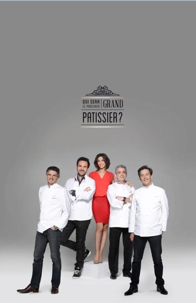 le jury de 'qui sera le prochain grand pâtissier ?' au grand complet.