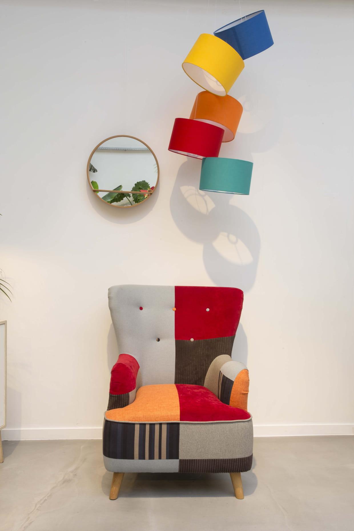 fauteuil arlequin chez conforama. Black Bedroom Furniture Sets. Home Design Ideas