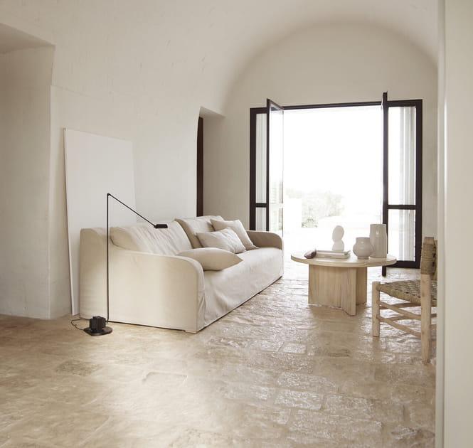Un salon méditerranéen immaculé