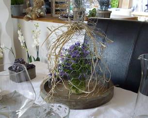 Fleurs en cage for Jardin issler