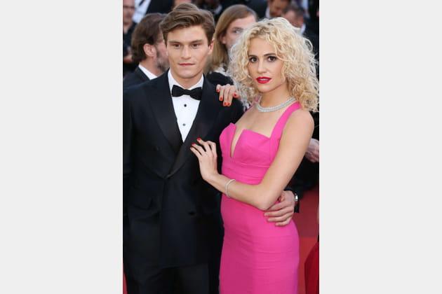 Oliver Cheshire et Pixie Lott, hot et pink