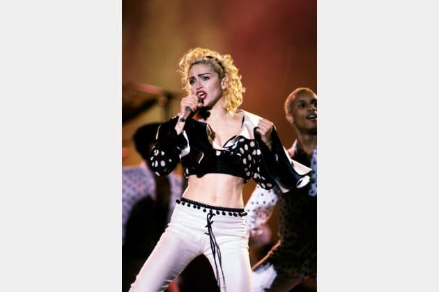 Madonna le 19août 1987