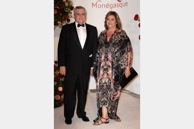 L'avocat Thierry Herzog et son épouse