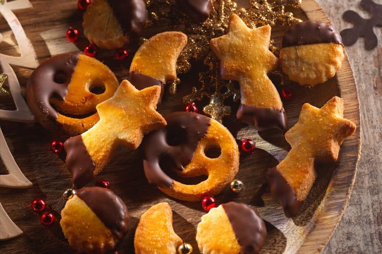 Sablés à la farine de coco et au chocolat
