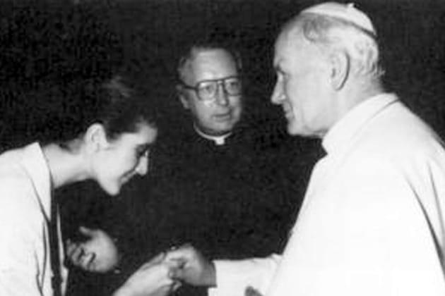 Rencontre papale en 1984
