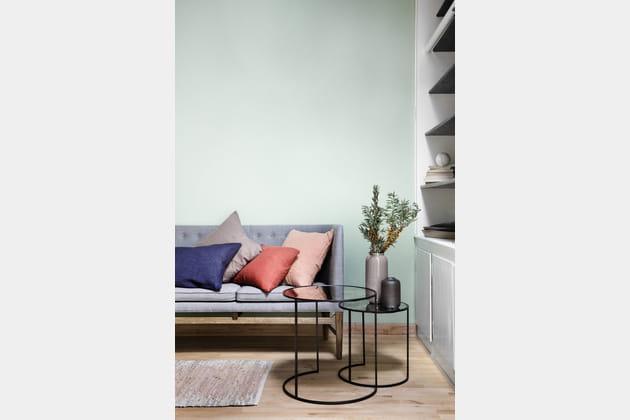 Tables gigognes en verre mercurisé par Broste Copenhagen