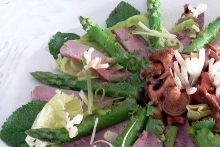 Salade de thon aux légumes croquants