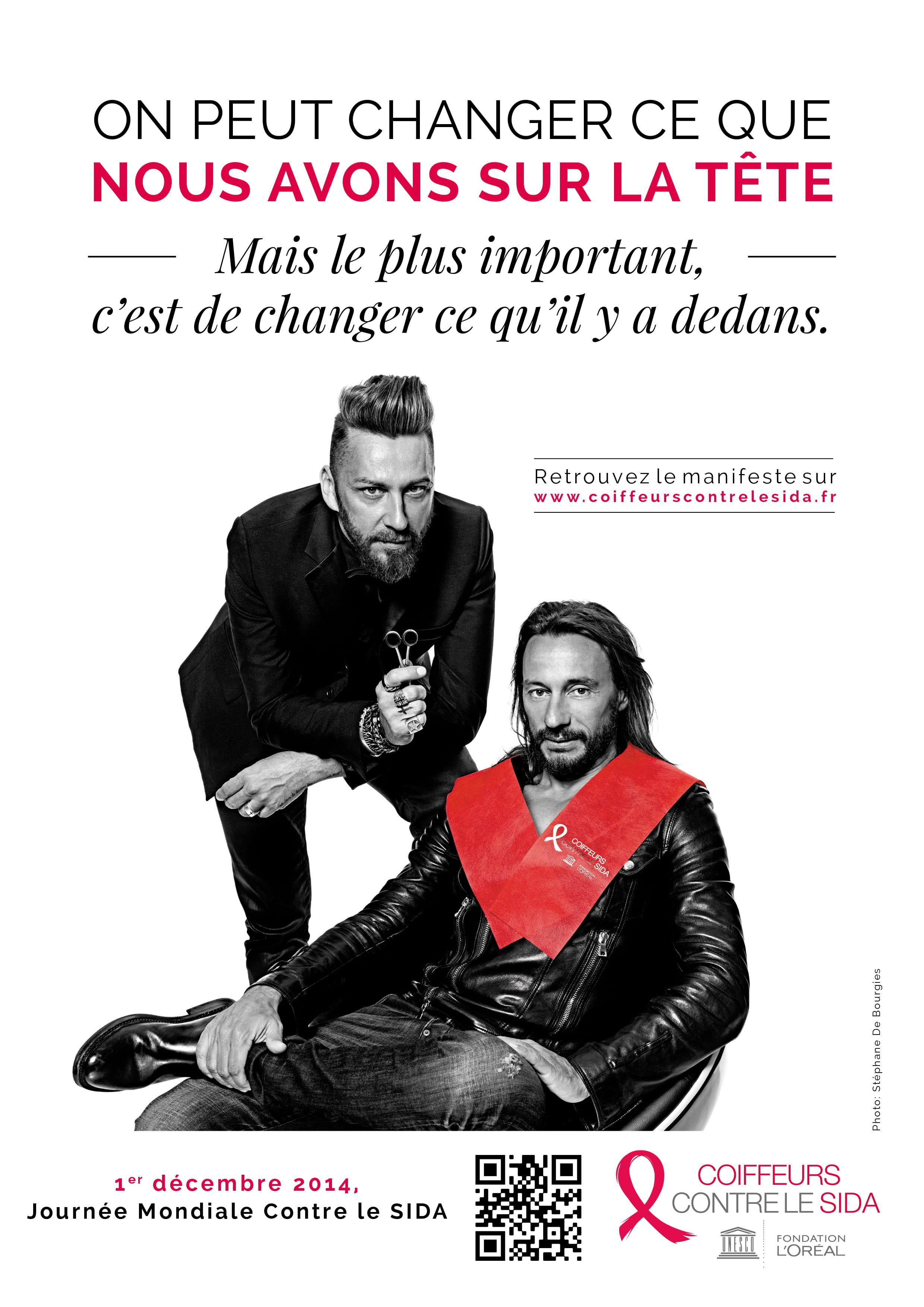 Bob Sinclar et Jérôme Guézou, parrains de l'opération Coiffeur ...