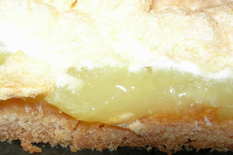 Tarte au citron meringuée croquante