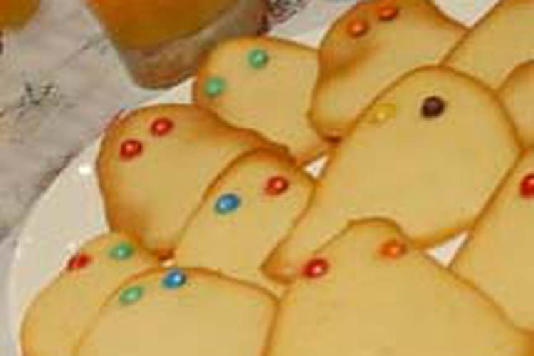 Biscuits fantômes d'Halloween