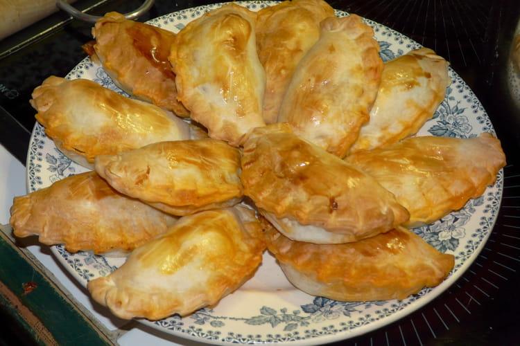 Empanadas de carne (chaussons à la viande)