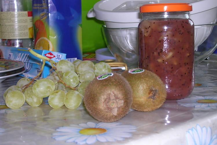Confiture raisin Kiwi