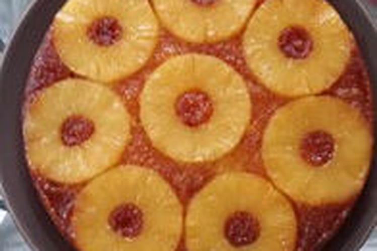 Gäteau renversé à l'ananas