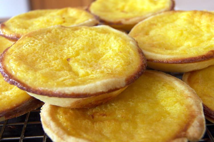 Tartelettes à la crème de clémentines