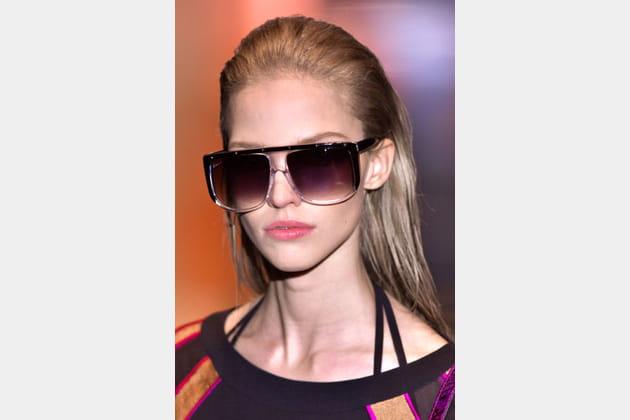 Les lunettes masque de Gucci