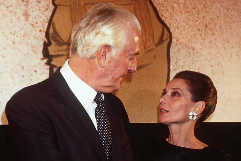 Hubert de Givenchy décédé, retour sur son histoire de mode avec Audrey Hepburn
