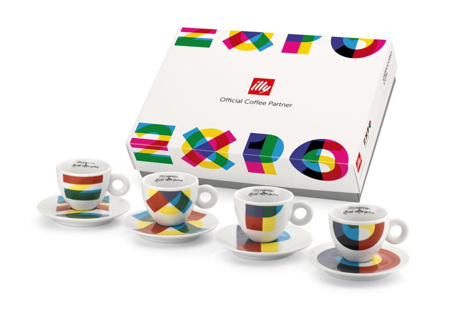Concours: en mars, gagnez 10coffrets à tasses à cappuccino Expo de Illy