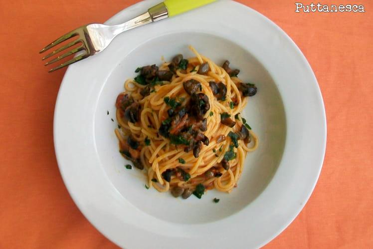 Spaghetti à la puttanesca