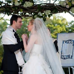 l'union religieuse de chelsea clinton et marc mezvinsky, le 31 juillet 2010.