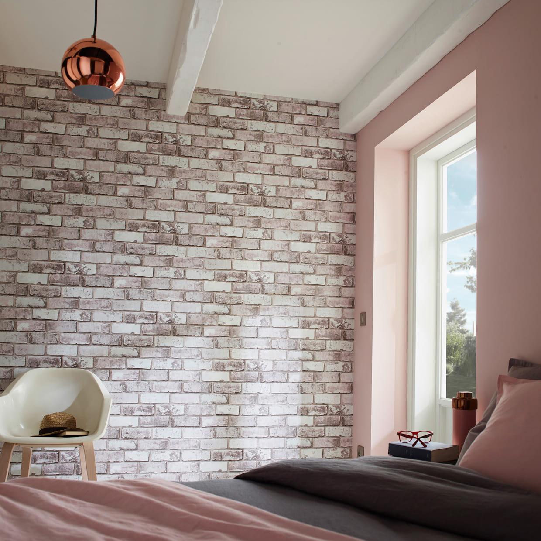 un papier peint trompe l 39 oeil. Black Bedroom Furniture Sets. Home Design Ideas
