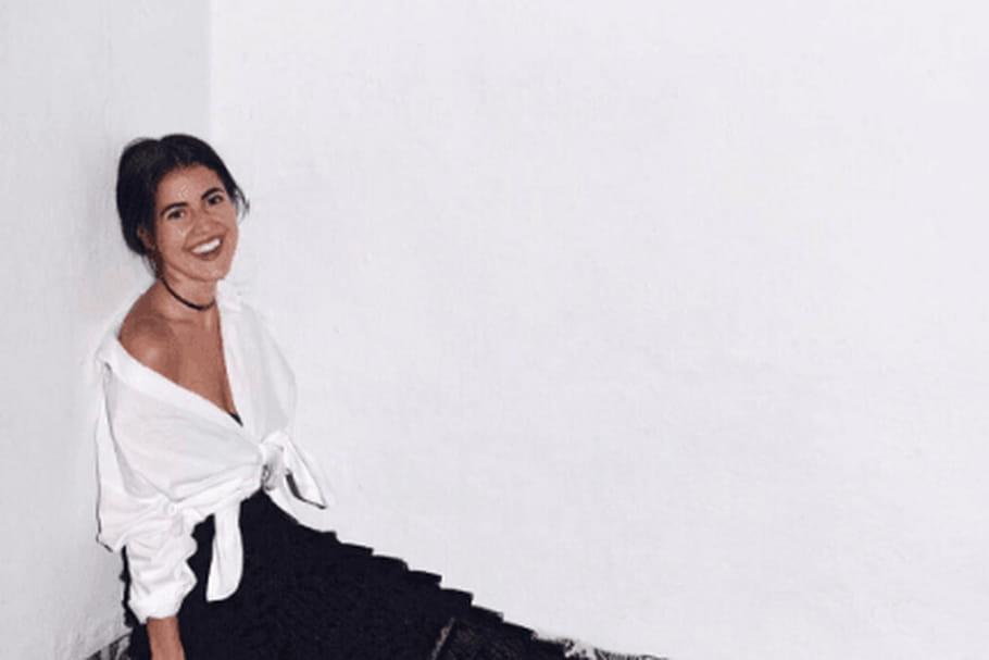 Le look blogueuse de la semaine: Pamela Allier, black & white à Mexico